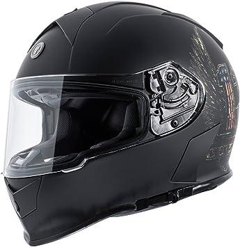 Flat Grey Nuke, X-Large TORC Mens Full Face helmet