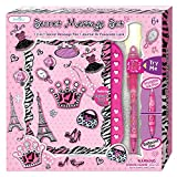 Journal for Girls - Diary Gifts Set for Kids Ages 5, 6, 7, 8, 9, 10 Years Old - Secret Diva Notebook with Passcode Lock - Blank, Lined Pages with Invisible Ink Pen and Blue Light for Her Secrets