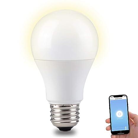 Amazon.com: Bombilla de luz inteligente, bombillas Alexa ...