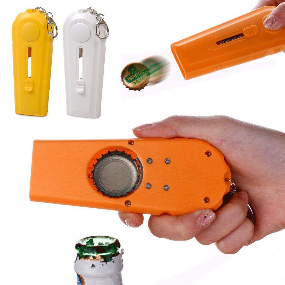 ddellk Flying Cap Launcher Launcher douverture de capsule de bi/ère avec des outils de cuisine de porte-cl/és
