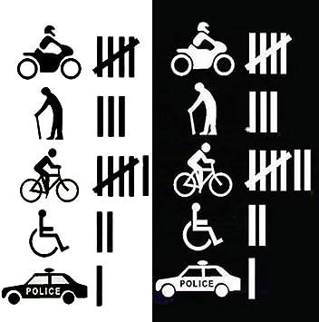 speeding funny fun police man cops car sticker vinyl graphics decals race speed