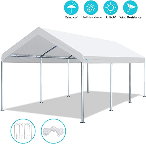 ADVANCE OUTDOOR Toldo de Alta Resistencia para cochera con ...