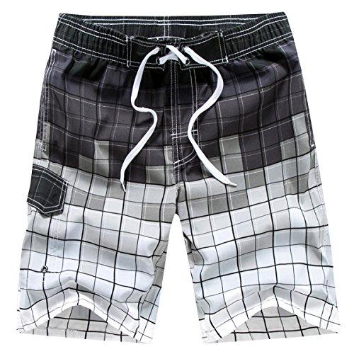 Tailor Pal Love - Pantalones de Hombre Bañador Swimwear para Natación Cortos de Surf Playa para Vacación Viajes Suave… E9CVeDvZn