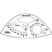 Thermodernizate Vinilo Adhesivo para Reparar Panel de Control