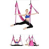 Juego de hamaca de yoga para ejercicios