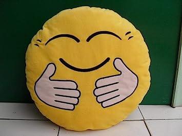 DHAMAN Toys Hug Me Tight Smiley Emoji Cushion Pillow Stuff Toy