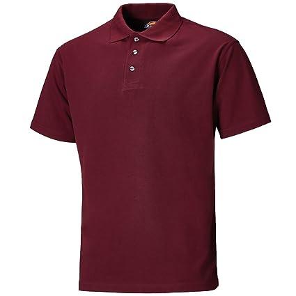 Dickies - Camisa de polo, burdeos, xxx a gran: Amazon.es ...