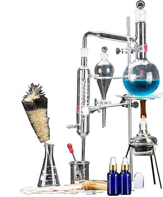 Sucastle 24pcs Nueva 500ml Esencial de Laboratorio Aparato de ...