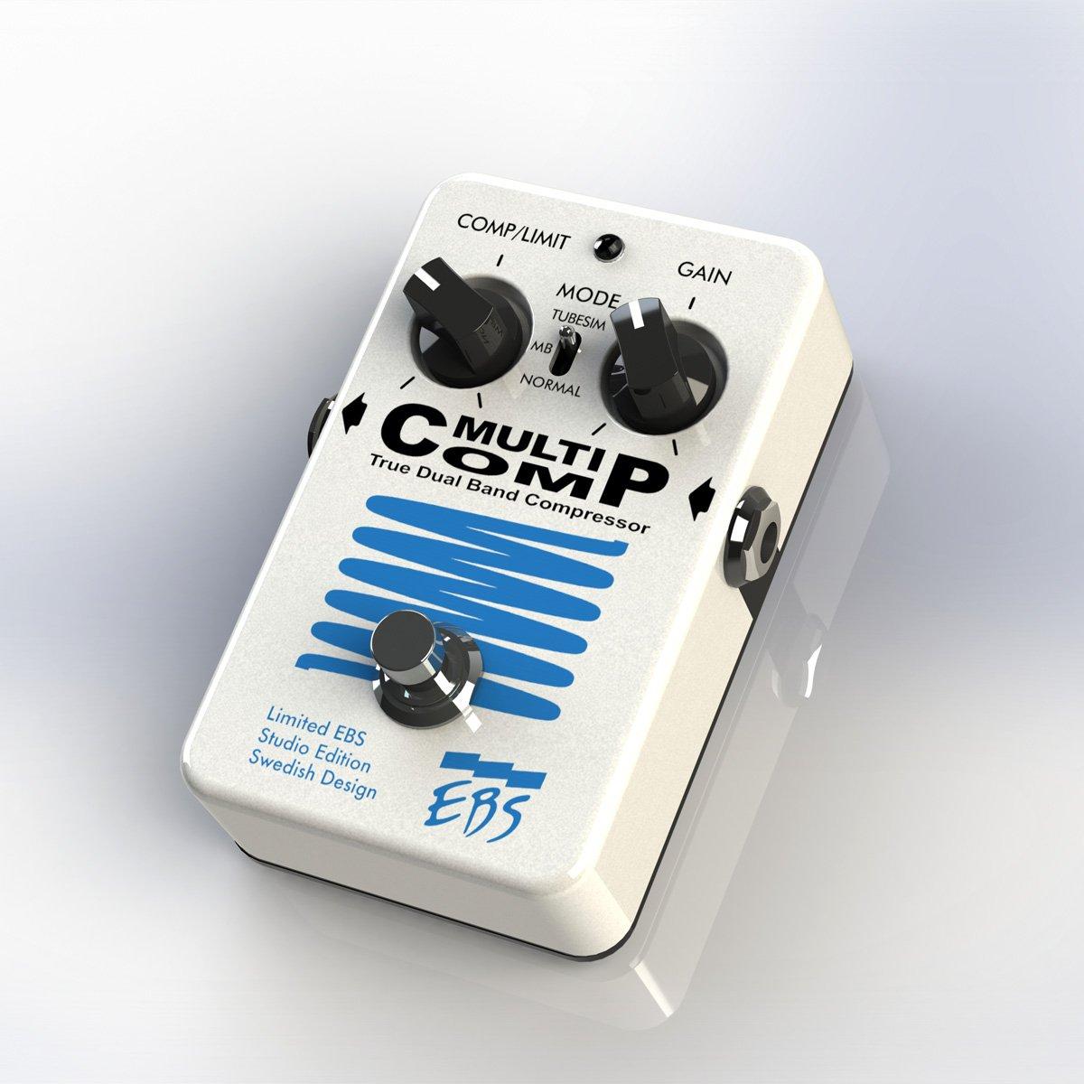 EBS/MultiComp Studio Edition Limited Pearl White Edition コンプレッサー B07DVYXH4D