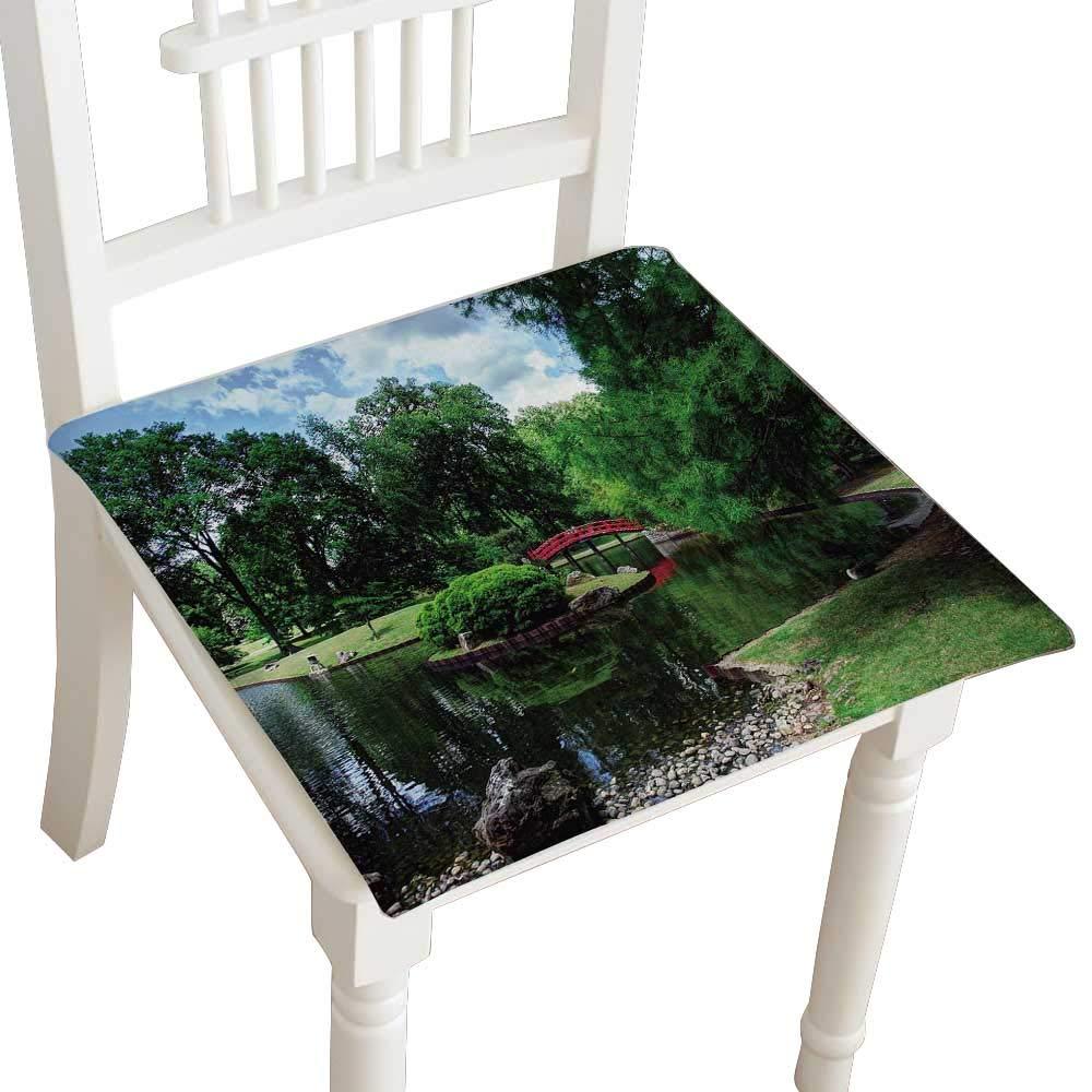 Amazon.com: HuaWuhome Squared Seat Cushion Jardin japonais à ...