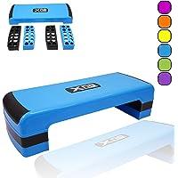 Xn8 Sports Adjustable Stepper Step Block Stylish Design Cardiovascular Fitness Aerobic Exercise Gym Yoga