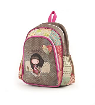 Anekke Schulrucksack/Backpack mit 2 Reißverschlussfächern Sweet Mochila Tipo Casual, 35 cm, 12 Liters, (Sweet): Amazon.es: Equipaje