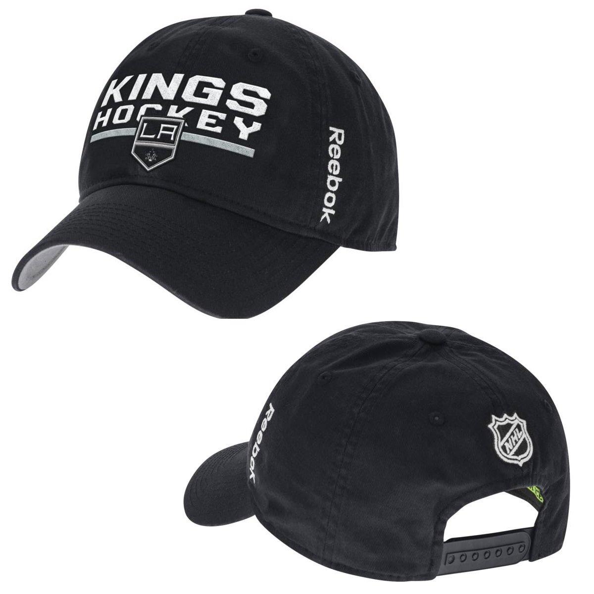 Reebok Los Angeles Kings Centro Hielo Locker Room Gorra Ajustable ...