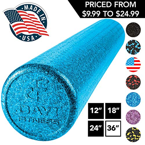 High Density Muscle Foam Rollers by Day 1 Fitness