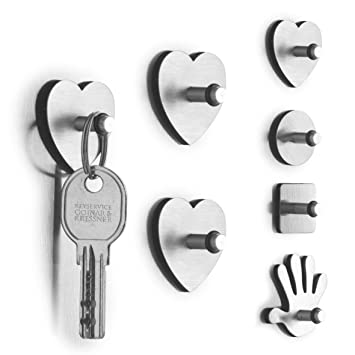 Sehr Gut Zeller 11209 Set 3 Magnete QUADRAT, mit Haken: Amazon.de: Küche  UQ04