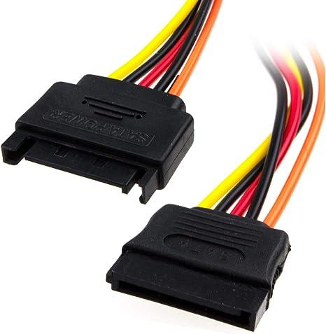 Sata Strom Verlängerung Kabel Für Intern Sata Hart Elektronik