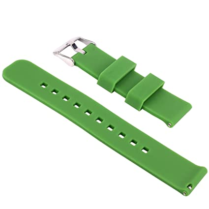 Yeworth Silicone Watchband Wristband for Samsung Galaxy Gear 2 R380, Neo R381, Live R382, LG G Watch W100/W110/W150, Asus Zenwatch and Pabble Time ...