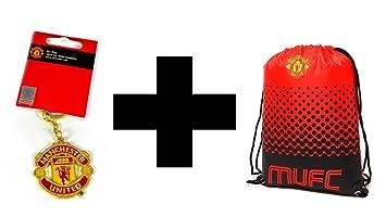 Juego de llavero y bolsa de gimnasio Manchester United ...