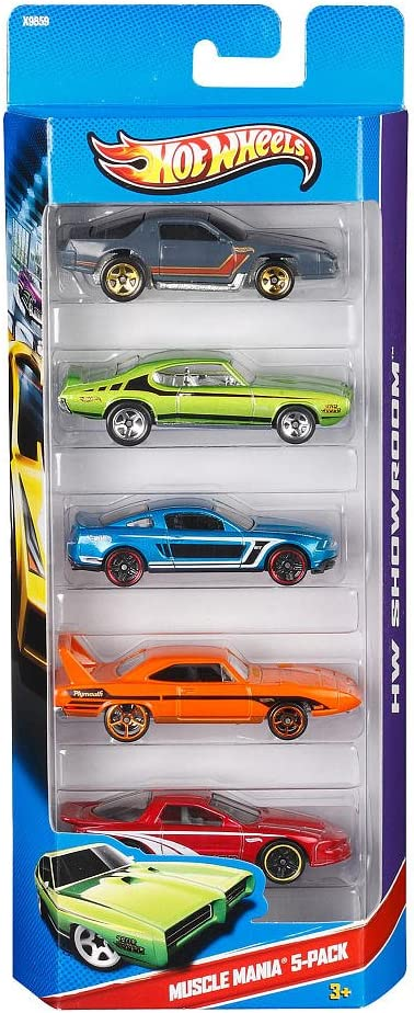 Hot Wheels HW Showroom Muscle Mania- by Hot Wheels: Amazon.es ...