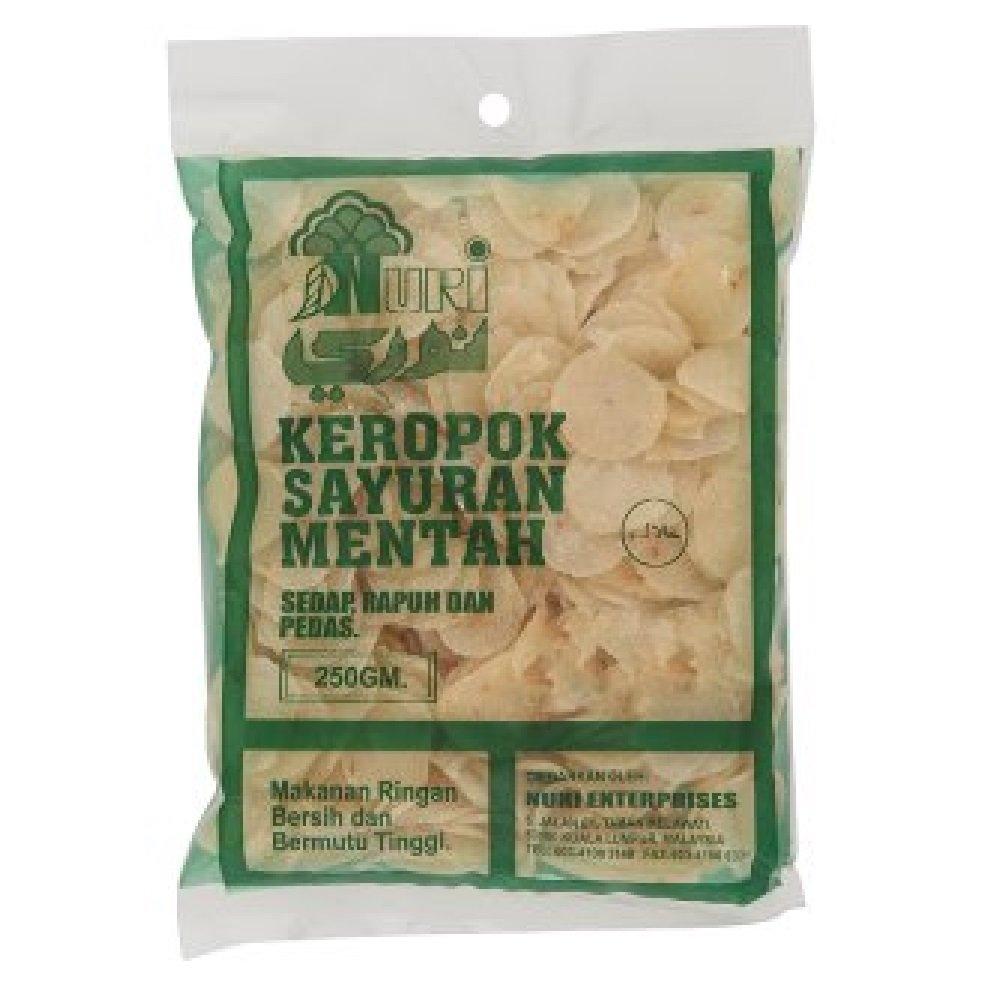Nuri Uncooked Keropok Sayuran Mentah 250g (628MART) (1 Pack)