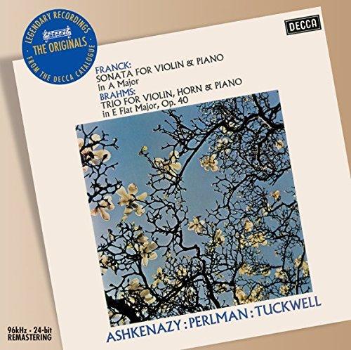 Franck: Sonata for Violin & Piano / Brahms: Trio for Violin, Horn & Piano