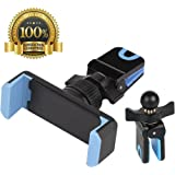 Car Mount,BestHot Universal Cell Phone Air Vent Car Mount Phone Holder Cradle for iPhone X/8/7/6S/6/5S,7/6S Plus,Samsung GalaxyS8/S7/S6/Edge, Note 5/4,Nexus, LG,HTC, Sony,other Smartphones&GPS (Blue&Black)
