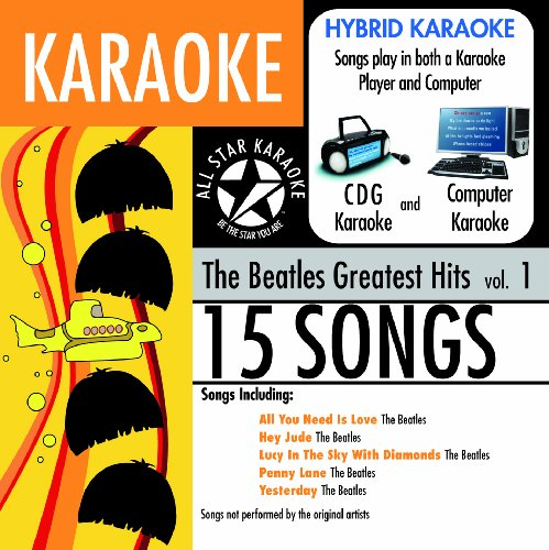 Beatles - Ask-1544 Karaoke The Beatles, Greatest Hits - Zortam Music
