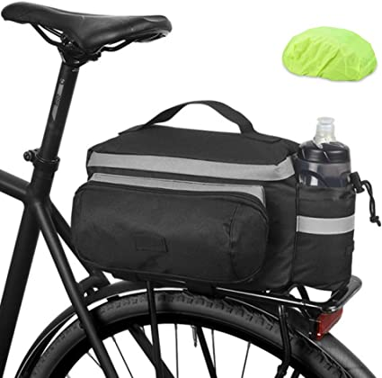 Sac de Vélo Imperméable Porte-bagage Sacoche de Siège Arrière de Bicyclettes
