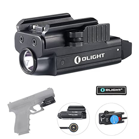 Olight Bundle Pl Mini Valkyrie Rechargeable Flashlight Cree Led 400 Lumen With Magnetic Usb Charger And Patch by Olight