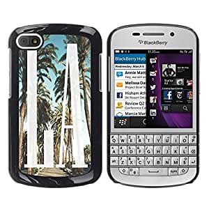 Dragon Case - FOR BlackBerry Q10 - Afternoon leisure time - Caja protectora de pl??stico duro de la cubierta Dise?¡Ào Slim Fit