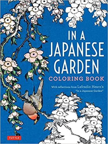 Ipad Coloring Book Le Pencil : In a japanese garden coloring book: lafcadio hearn: 9784805314036