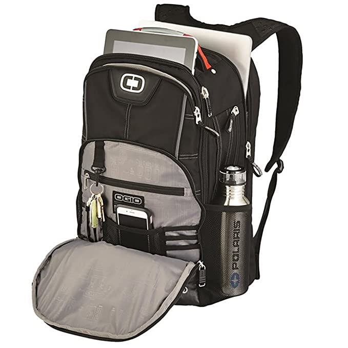 Amazon.com: Polaris OGIO Axle Laptop Backpack - Black/Gray: Computers & Accessories