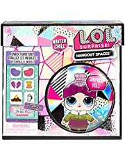 LOL Surprise Winter Chill Hangout Spaces Furniture Playset with Cozy Babe Doll, 10+ Surprises, Furniture Set, Accessories – Great Gift for Girls Ages 4+