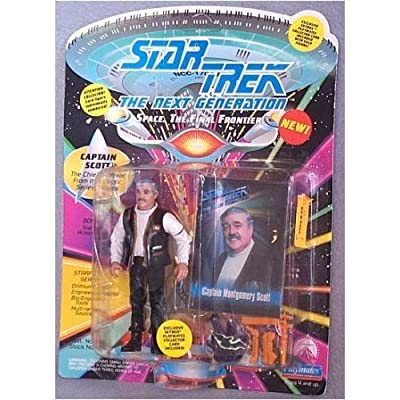 "Captain Montgomery Scott Action Figure As Seen in the Star Trek: Next Gext Generation Episode ""Relics\"": Toys & Games [5Bkhe0302872]"