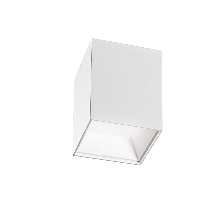 Isyluce Deckenleuchte LED 12 W 4000 K Strahler Deckenleuchte Metall weiß Zertifizierung Italienische Hohe Helligkeit