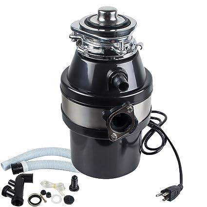 Denshine Household Food Waste Disposer Processor Grinder & Kitchen ...