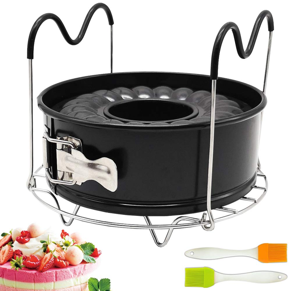 7 Inch Springform Pan Non-stick Leakproof 2