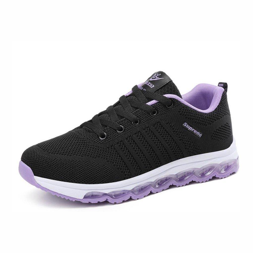 YaXuan Sommer Sportschuhe, Mesh Breathable Turnschuhe, Kokos Fliegen Woven Schuhe, erhöhte Luftpolster Schuhe Freizeitschuhe (Farbe : C, Größe : 37)