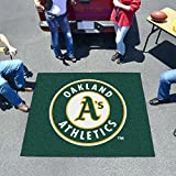 Fan Mats 6412 MLB - Oakland Athletics 5' x 6' Tailgater Mat / Area Rug