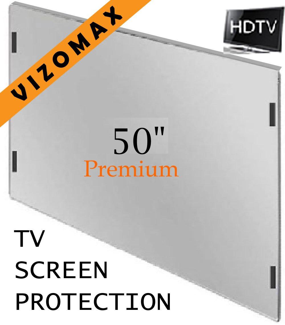 LED /& Plasma HDTV 47-48 inch Vizomax TV Screen Protector for LCD