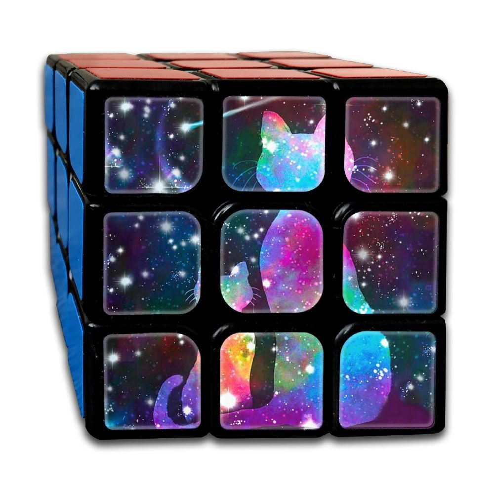 AVABAODAN Shine Cat.jpg Rubik's Cube 3D Printed 3x3x3 Magic Square Puzzles Game Portable Toys-Anti Stress For Anti-anxiety Adults Kids