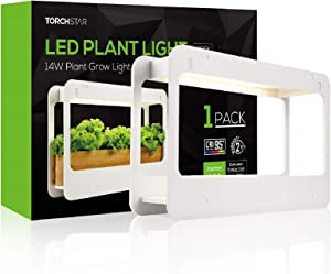 TORCHSTAR Indoor Herb Garden, Plant Grow LED Light Kit with Timer Function, 24V Low Voltage, Indoor Harvest Elite for Gourmet or Plant Enthusiasts, Rosemary, Lavender, Pots & Plants Not Included