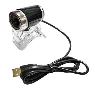 Dooret Manual de HD Webcam Potente cámara Web CAM Ajustable Longitud Focal del USB con el Mic para PC de Escritorio del Ordenador portátil 640 * 480: ...