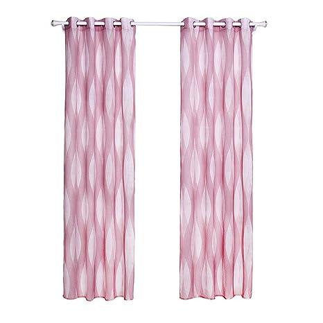 1 pares de cortinas de tela Doris Ventana Imprimir PUERTA DE CORTINA cortina de la ventana