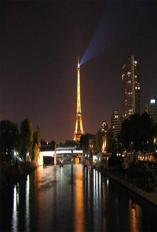 Ooozkken Eiffel Tower Background Theme Newborn Indoor Photography Studio Photography 8x12ft