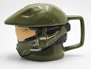 Halo Taza 3D Master Chief Helm/Casco [con Tapa]