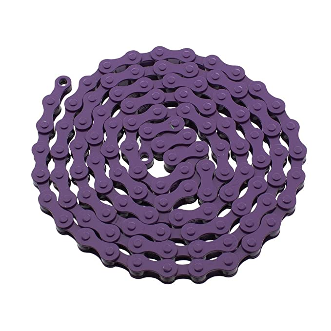 YBN S410 Bicycle Chain (1-Speed, 1/2 x 1/8-Inch, 112L) , Various Colors