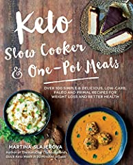 Keto Slow Cooker & One-Pot Meals packs 100 high-fat, low-carb keto recipes! Enjoy quick, tasty dinners as you get healthy, lose weight, and control your blood sugar. Slow cooker and one-pot meals are the ultimate convenience food. ...