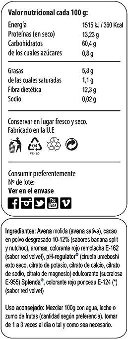 Max Protein Oatmeal Sac Harina Avena, Termo-Activada - 3000 gr: Amazon.es: Salud y cuidado personal