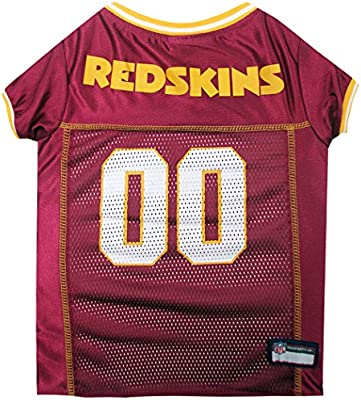 Amazon.com   Pets First NFL Washington Redskins Jersey 82c4759d4